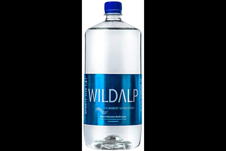 Альпийская вода Wildalp без газа 1.5 литра