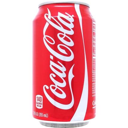 Газированный напиток Coca-Cola classic, ЖБ 0.35 литра (США)