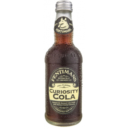 Лимонад Fentimans Curiosity Cola, стекло 0.275 литра