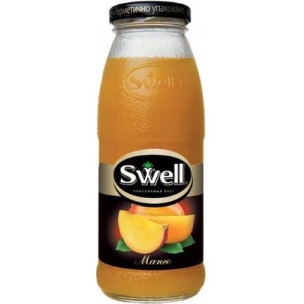 Нектар СВЕЛЛ (SWELL) Манго с мякотью стекло 0.25 литра ...