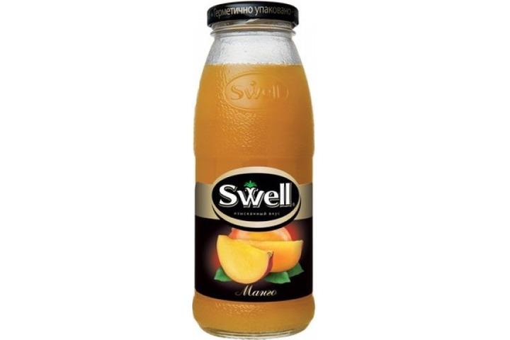 Нектар СВЕЛЛ (SWELL) Манго с мякотью стекло 0.25 литра
