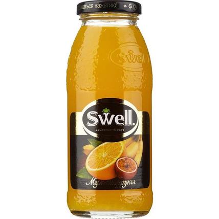 Нектар СВЕЛЛ (SWELL) Мультифрукт стекло 0.25 литра  - купить и заказать с доставкой