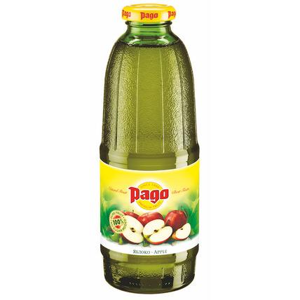 Сок PAGO Яблоко, стекло 0.75 литра