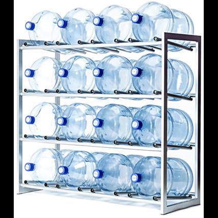 Стойка для 16 бутылей воды СРП (разборная)