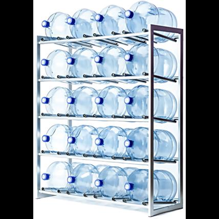 Стойка для 20 бутылей воды СРП (разборная)