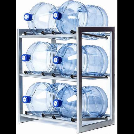 Стойка для 6 бутылей воды СРП (разборная)